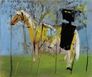<span>Sidney Nolan</span>Kelly and horse 1945