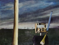 <span>Sidney Nolan</span>Return to Glenrowan 1946