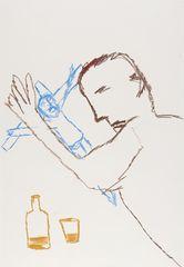<span>Sidney Nolan</span>Drunken parson 1978