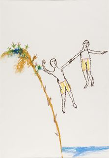<span>Sidney Nolan</span>Suicide of two boy convicts 1978