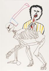 <span>Sidney Nolan</span>(Gabbett, the cannibal) ascribed title 1978