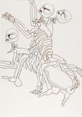 <span>Sidney Nolan</span>(Convict skeleton) ascribed title 1978