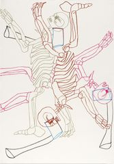 <span>Sidney Nolan</span>(Dance of death) ascribed title 1978