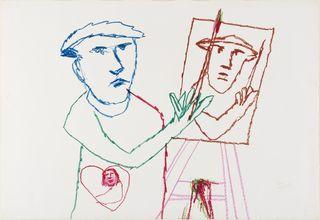 <span>Sidney Nolan</span>Untitled June 1978
