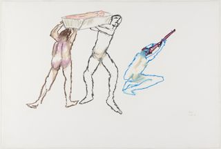 <span>Sidney Nolan</span>Untitled February 1978