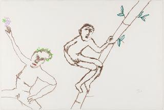 <span>Sidney Nolan</span>Untitled February 1978