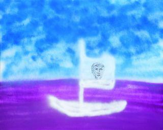 <span>Sidney Nolan</span>Drunken boat 1982
