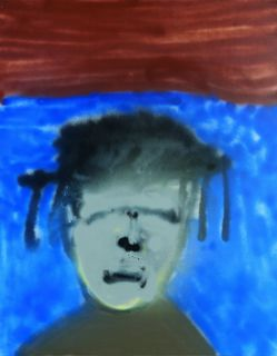<span>Sidney Nolan</span>Rimbaud's mother 1982